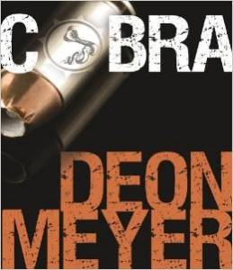 Deon Meyer Cobra book jacket