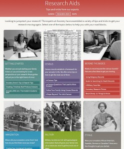 Heritage Quest Online Research Aids
